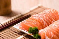 Salmon shsimi Стоковые Изображения