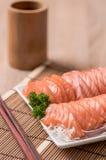Salmon shsimi Стоковое Фото