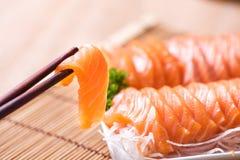 Salmon shsimi Стоковое Изображение