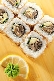 Salmon Skin Roll Royalty Free Stock Photos