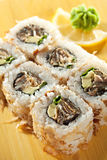 Salmon Skin Roll Royalty Free Stock Images