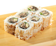 Salmon Skin Roll Royalty Free Stock Photo