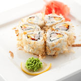 Salmon Skin Roll Stock Photography