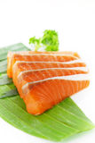 Salmon Slices Stock Photos