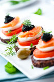 Salmon Snack Stock Images