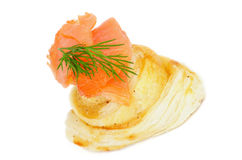 Salmon Snack Royalty Free Stock Images