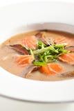 Salmon Soup Royalty Free Stock Photo