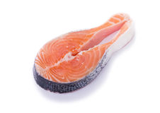 Salmon Steack Royalty Free Stock Images