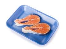 Salmon Steack Royalty Free Stock Photos