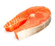 Salmon steak Royalty Free Stock Photo