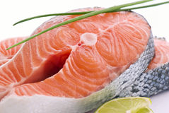 Salmon Steak Royalty Free Stock Images