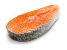 Salmon steak. Royalty Free Stock Photos