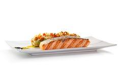 Salmon Steak images libres de droits
