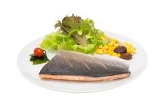 Salmon Steak image stock