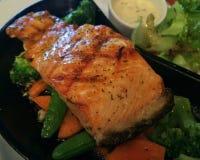 Salmon Steak Imagens de Stock