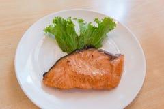 Salmon Steak Fotos de Stock Royalty Free