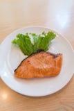 Salmon Steak Fotografia de Stock