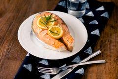 Salmon royalty free stock photos