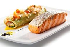 Salmon Steak Stock Images