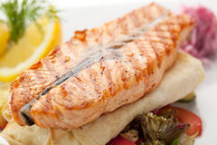 Salmon Steak Stock Images