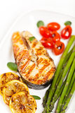 Salmon steak Royalty Free Stock Photography