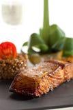 Salmon Steak Royalty Free Stock Images