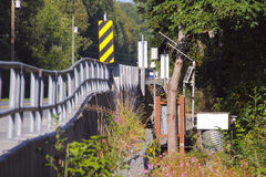 Salmon Stream Instrumentation Royalty Free Stock Photo