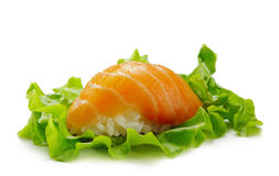 Salmon Sushi Stock Photo