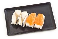 Salmon sushi Stock Photography