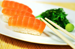 Salmon Sushi Royalty Free Stock Photos