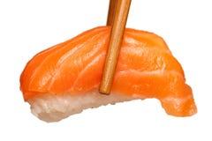 Salmon Sushi Fotografie Stock