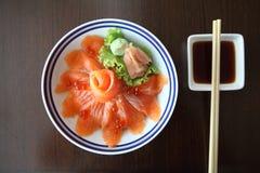 Salmon sushi don Royalty Free Stock Photos