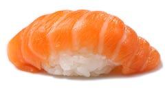 Salmon sushi. Isolated on white Stock Photography