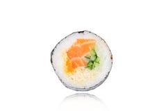 Salmon Sushi Roll Imagen de archivo libre de regalías