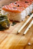 Salmon Sushi. Royalty Free Stock Images