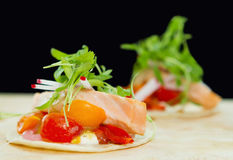 salmon taquito стоковые фотографии rf