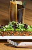 Salmon tartar Royalty Free Stock Images