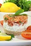 Salmon tartare Stock Photos