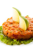 Salmon Tartare Royalty Free Stock Images