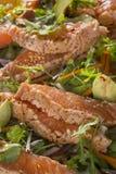 Salmon Tataki Stock Images