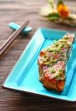 Salmon Teriyaki Stock Images