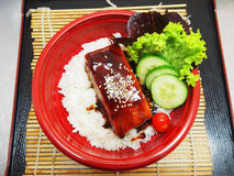 salmon teriyaki Стоковые Изображения RF