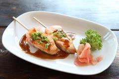 Salmon teriyaki Royalty Free Stock Image