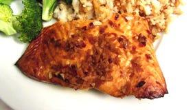 Salmon Teriyaki Dinner clips vidéos