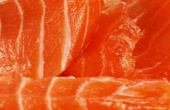 Salmon texture Stock Photo