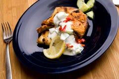 Salmon Tikka Stock Image