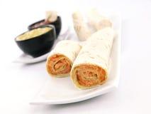 salmon tortilla Стоковые Изображения