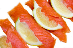 Salmon up close Royalty Free Stock Images