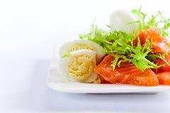 Salmon With Eggs Royalty Free Stock Photo