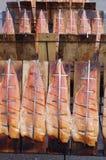 Salmone affumicato Immagini Stock Libere da Diritti